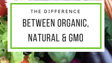 What is the Difference Between Organic, Natural & GMO