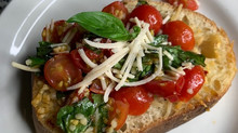 Yummy Vegan Bruschetta