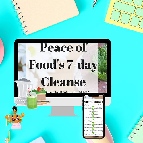 Peace of Food's 7- Day Cleanse