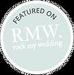 Rocky My Wedding featured on logo