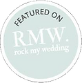 Rocky My Wedding featured on logo
