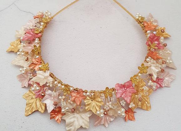 Golden Autumn Crown