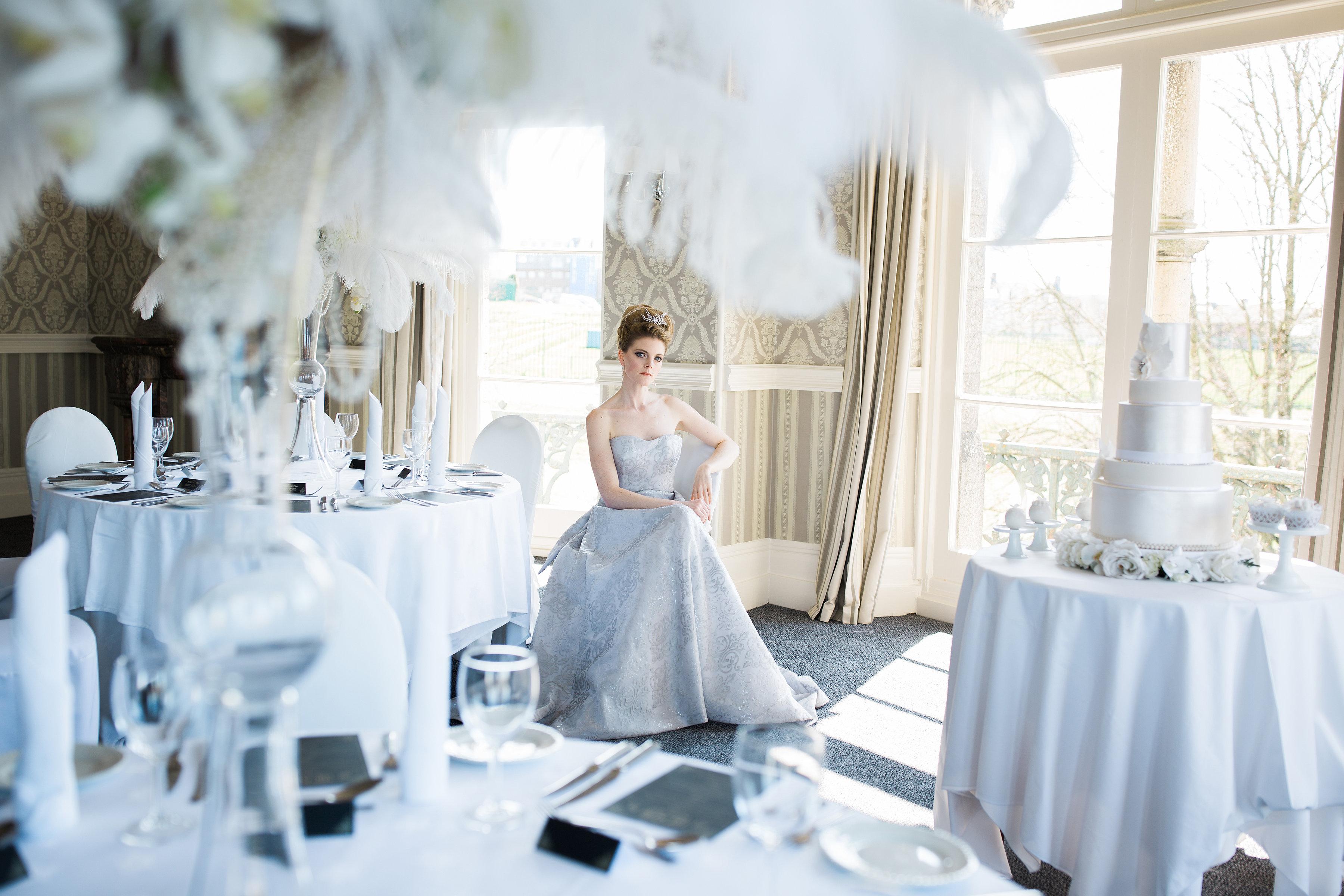 Opulent elegance room setting