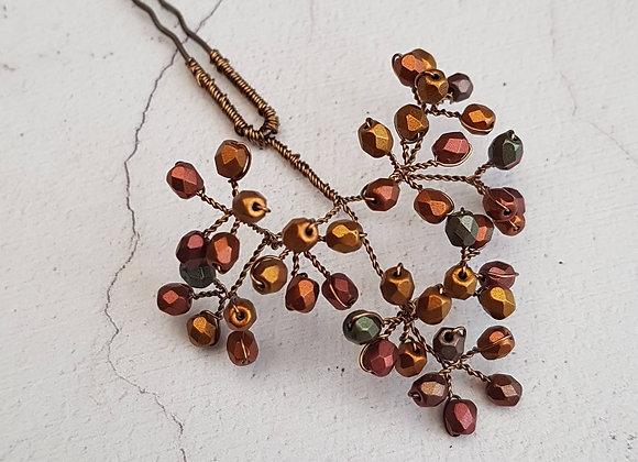 Bronze pins