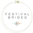 Festival Brides featured on logo