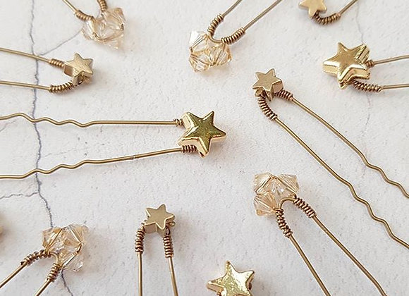 Celestial scatter pins