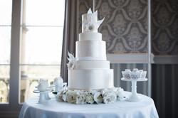 Opulent elegance cake