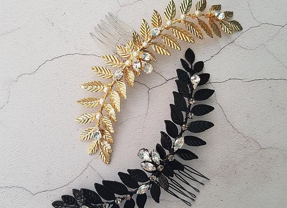 Fern leaf comb