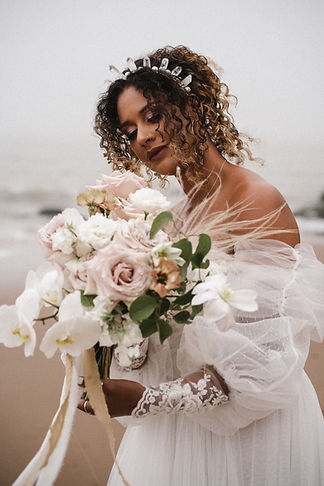 bridal hair accessoires made in Devon