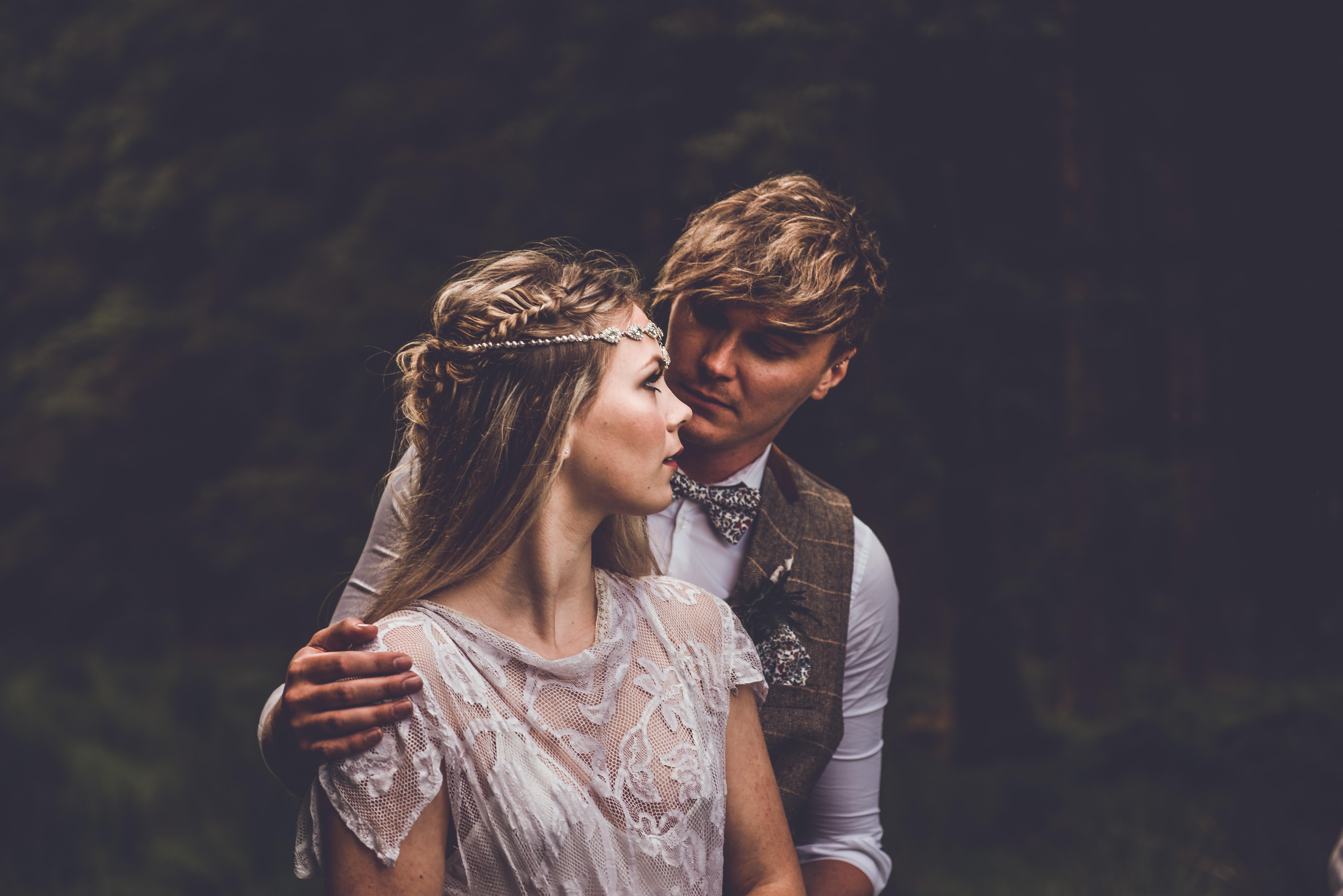 Into the wild groom style