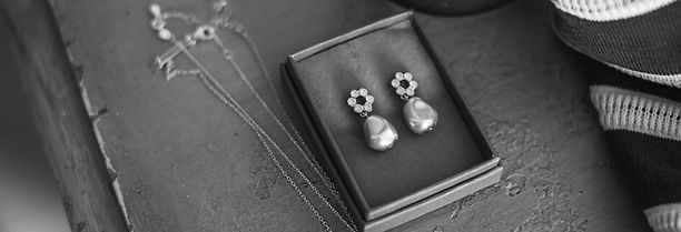 bridal jewellery handmade in Devon England