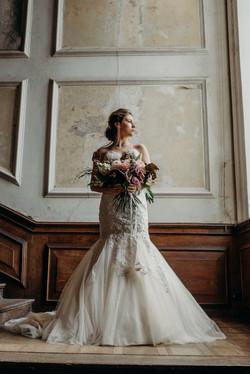 Vintage Lux wedding bride