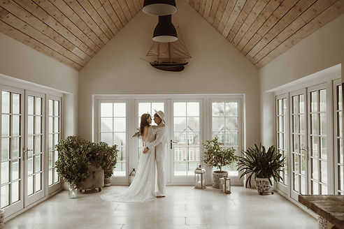 light airy getaway space for intimate elopement