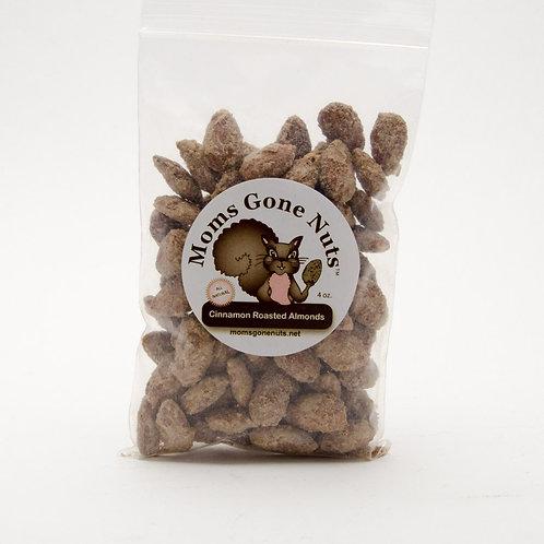 Cinnamon Roasted Almonds 4 oz.