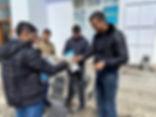 ახალქალაქში მოსახლეობას კორონა ვირუსის წინააღმდეგ აუცილებელი ჰიგიენური საშუალებები დაურიგდა