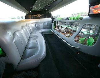 Chrysler limo interior