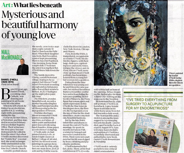 Daniel O'Neill. Sunday Independent Review.