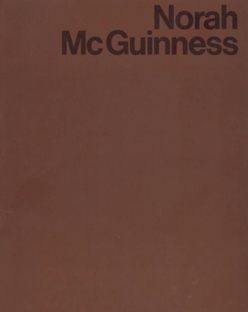 Norah McGuiness Retrospective Catalogue