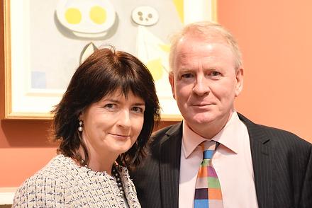 Karen Reihill and David Britton