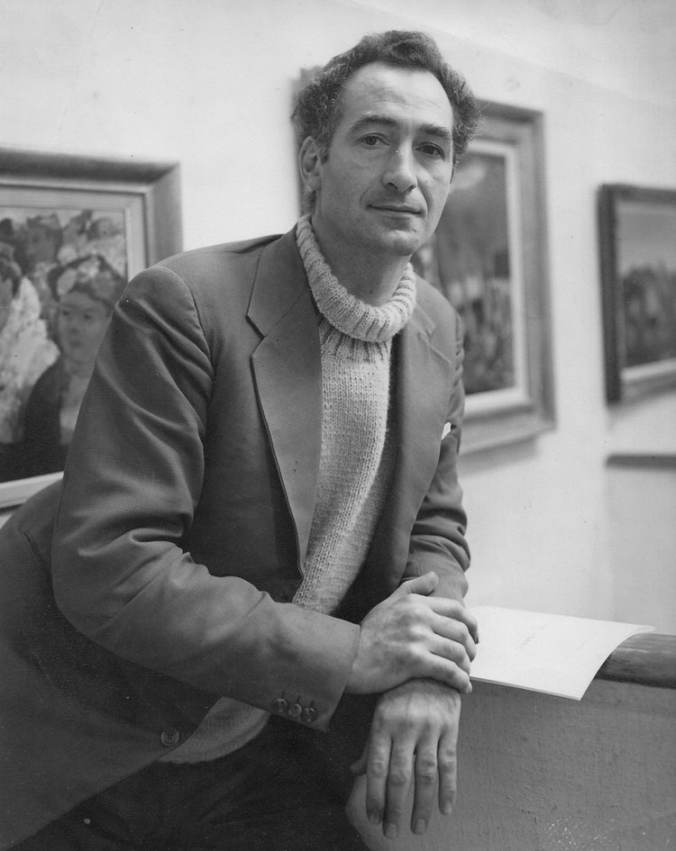 Daniel O'Neill at the Waddington Galleries, 1955