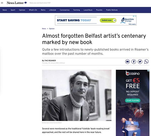Belfast newsletter press review.png