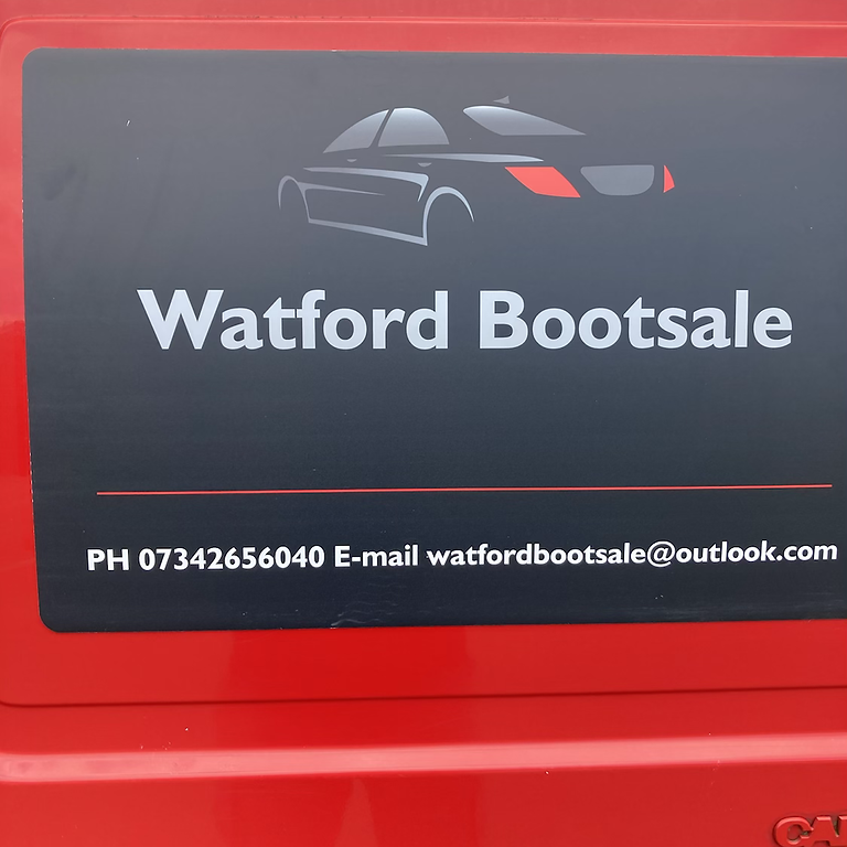 2  pitches for £12:00  at any of our bootsales