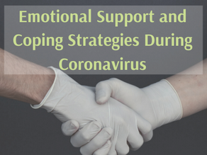 Emotional Support and Coping Strategies During Coronavirus