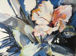 Hibiscus Blue, 18Wx24Hx1.5D, Acrylic.jpg
