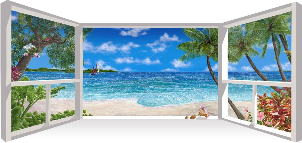 Lynn Fecteau - Sea of Dreams, 37x80
