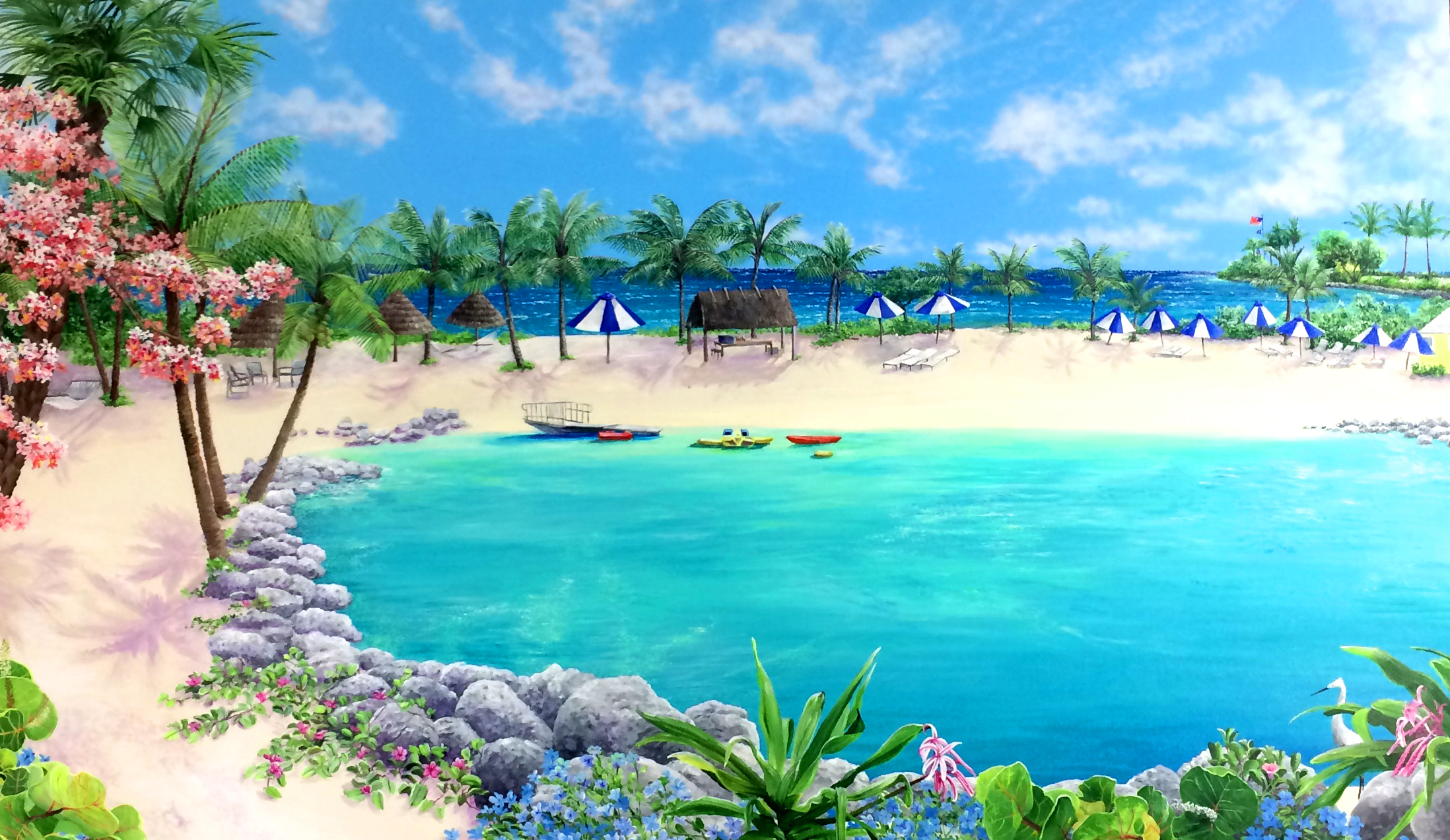 Beautiful Day Buccaneer Island