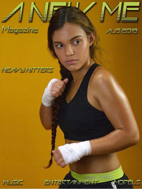 "AUTOGRAPHED copy A New Me Magazine ""Heavy Hitters"" Edition"