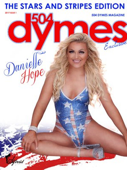 AUTOGRAPHED Copy 504 Dymes Stars & Stripes Edition