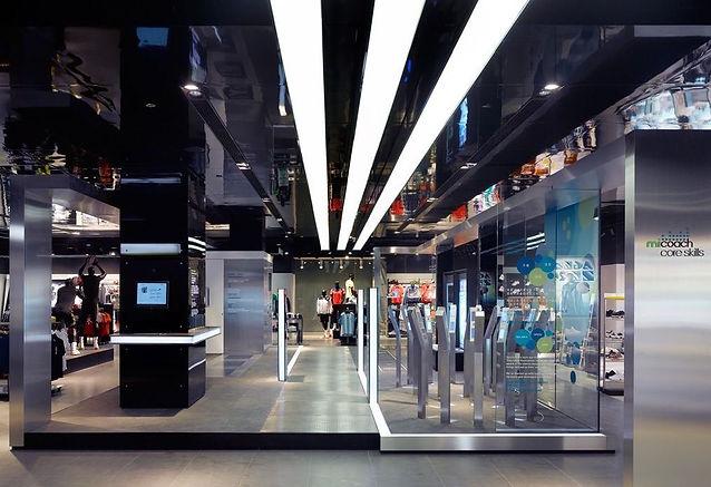 Магазин Adidas. Москва. 2010
