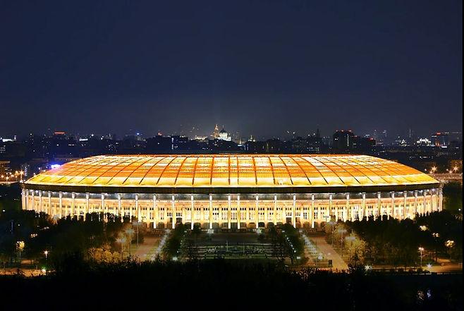 Стадион Лужники. Москва. 2014 ⠀