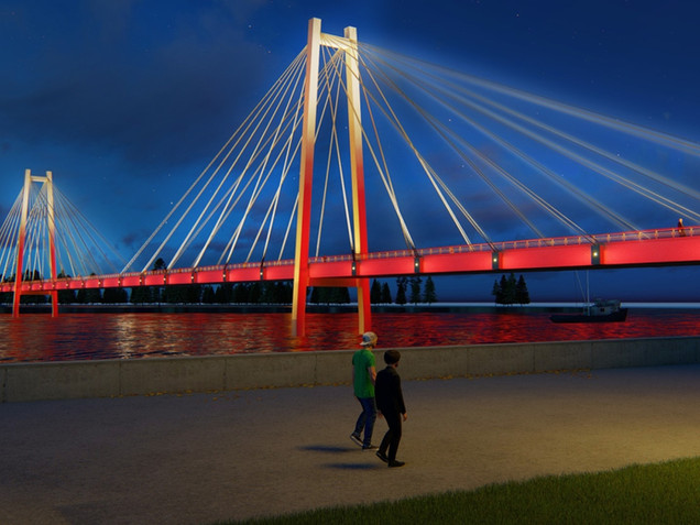 Красноярск Мост