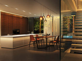 Частный дом. Кухня