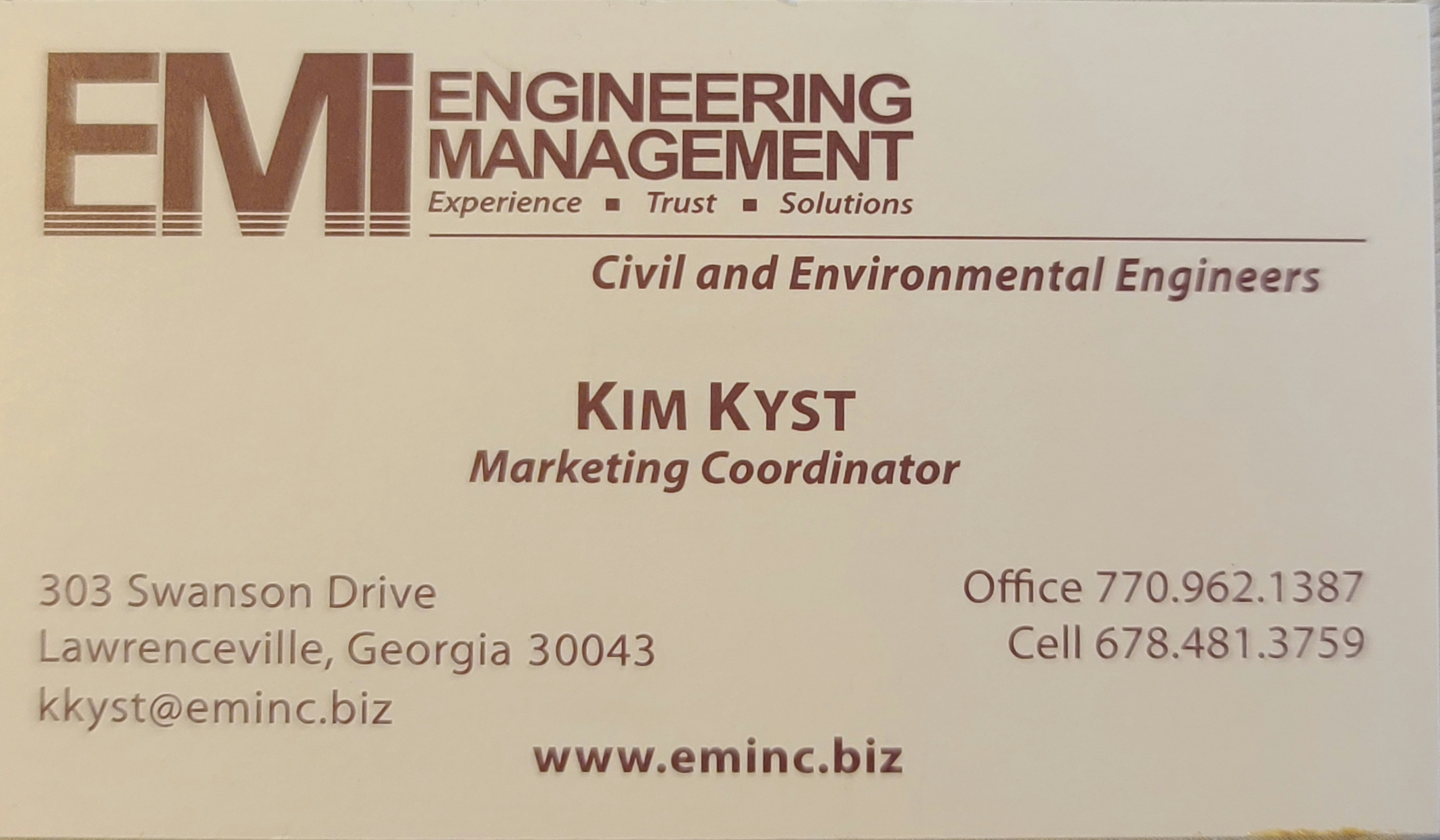 EMI Engineering Management