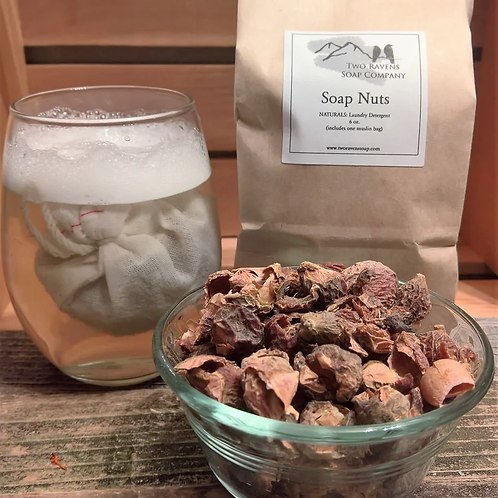 Soap Nuts: Natural Laundry Detergent