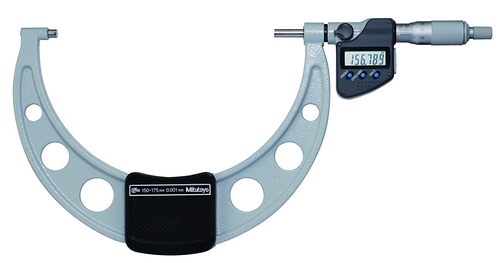 Digital Micrometer IP65 100-125mm 293-250-30, with SPC