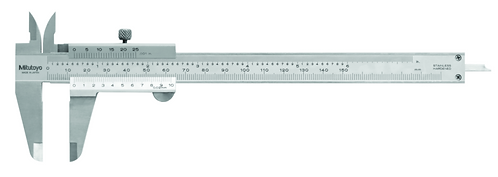 "Vernier Caliper 530-119, without Fine, 0-300mm/0-12"", 0.02mm, Metric/Inch"