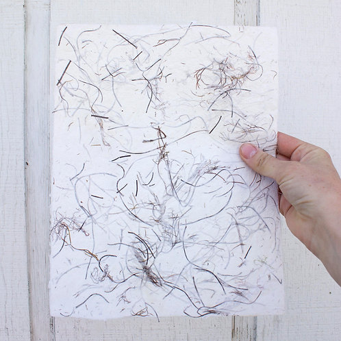Handmade Paper: Cotton with Seaweed