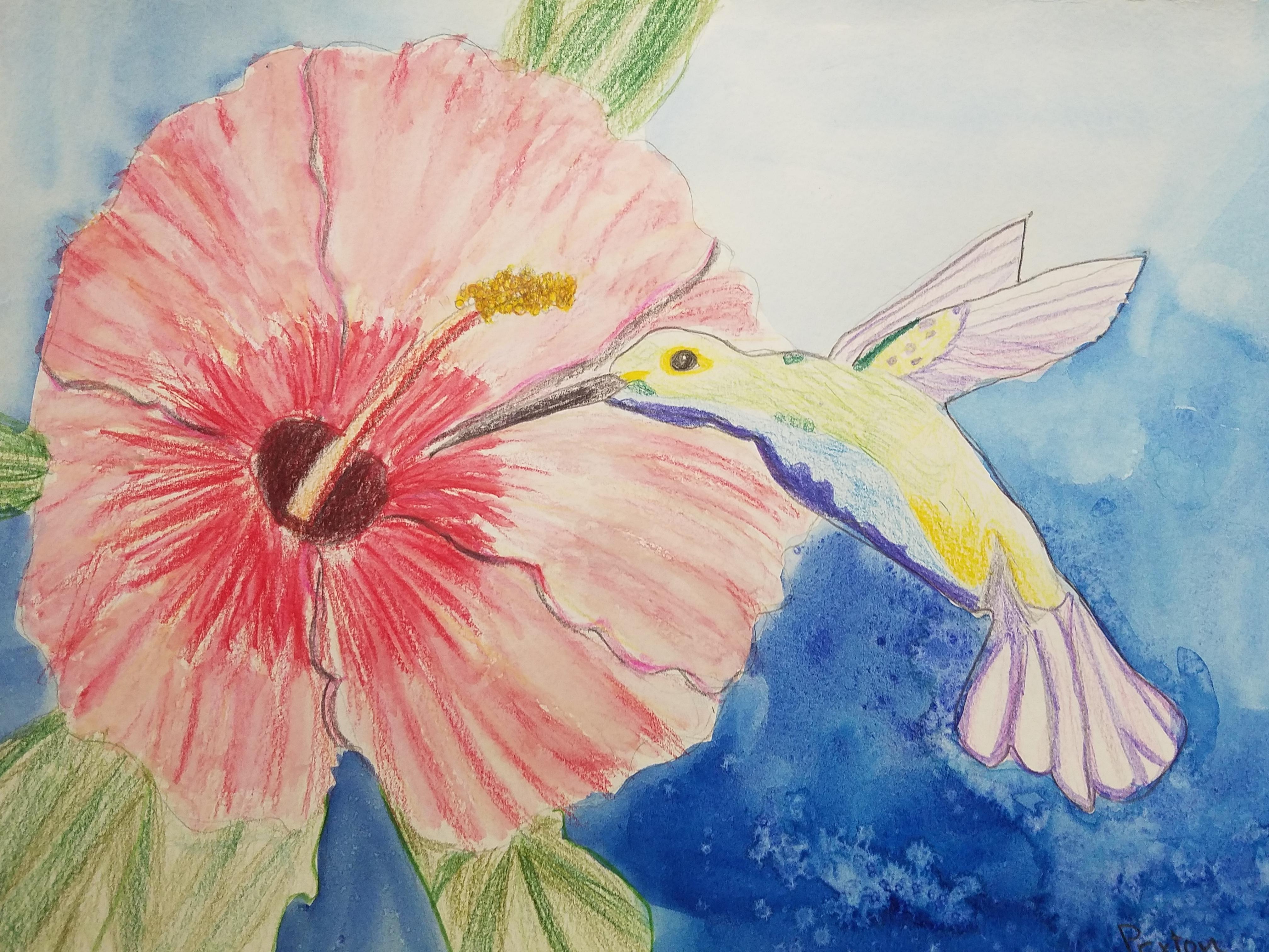 Art In Watercolors- Kid 7