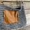 Thumbnail: Leather Pocket Skirt Purse