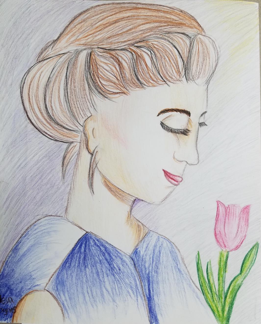 Girl Art- Age 10