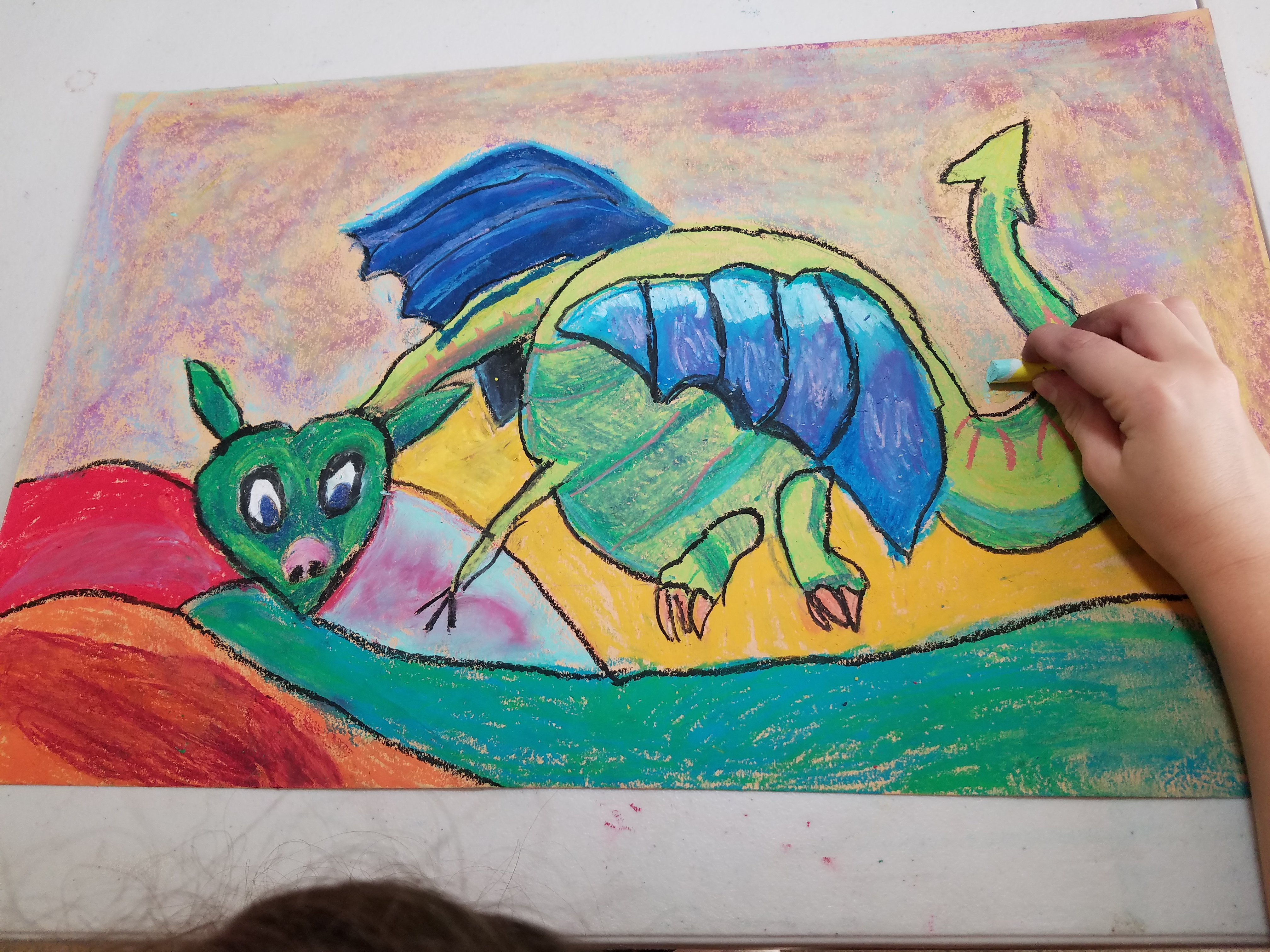 Dragon Art - Kid 6