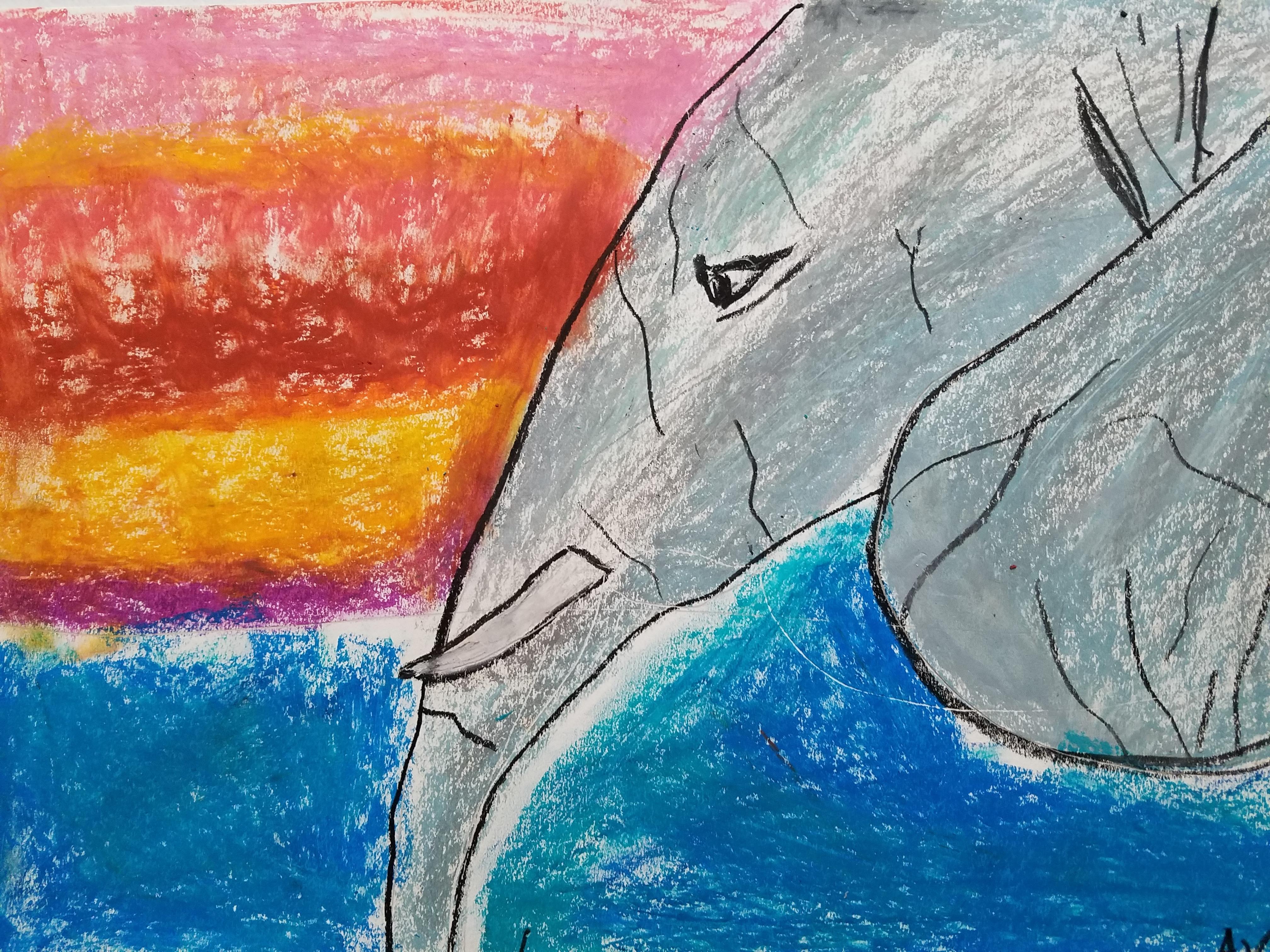 Elephant Art - Age 8