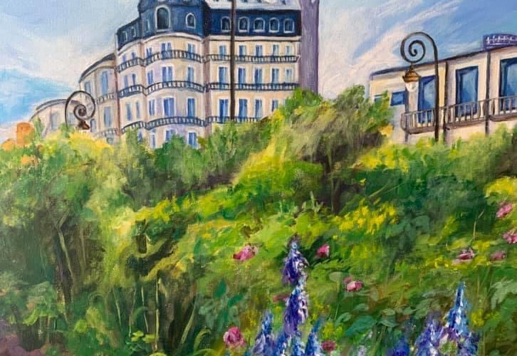 Lavender Blooms In Paris.JPG