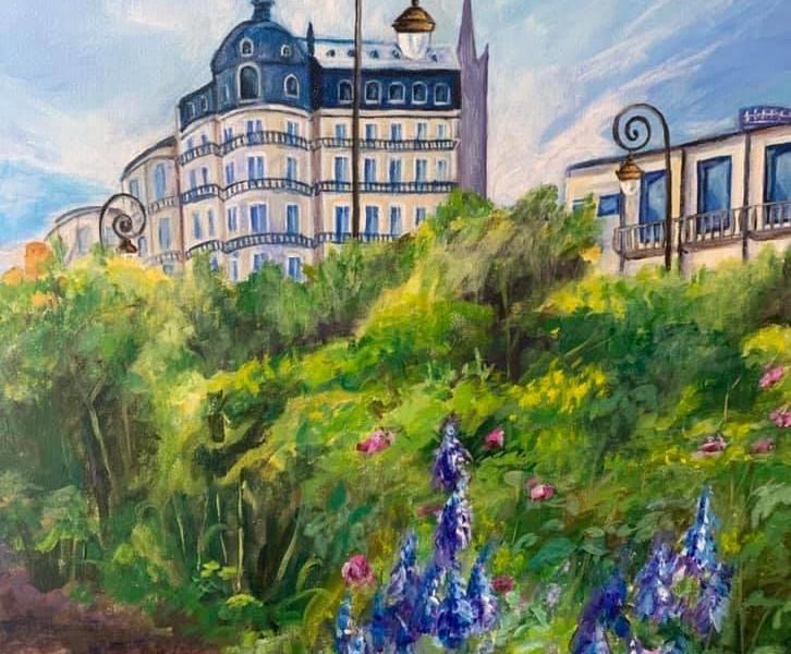 Lavender Blooms In Paris.JPG