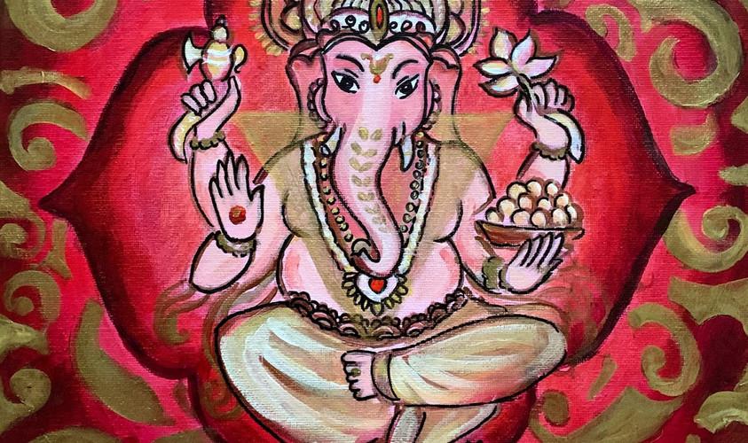 Heart Chakra Ganesha