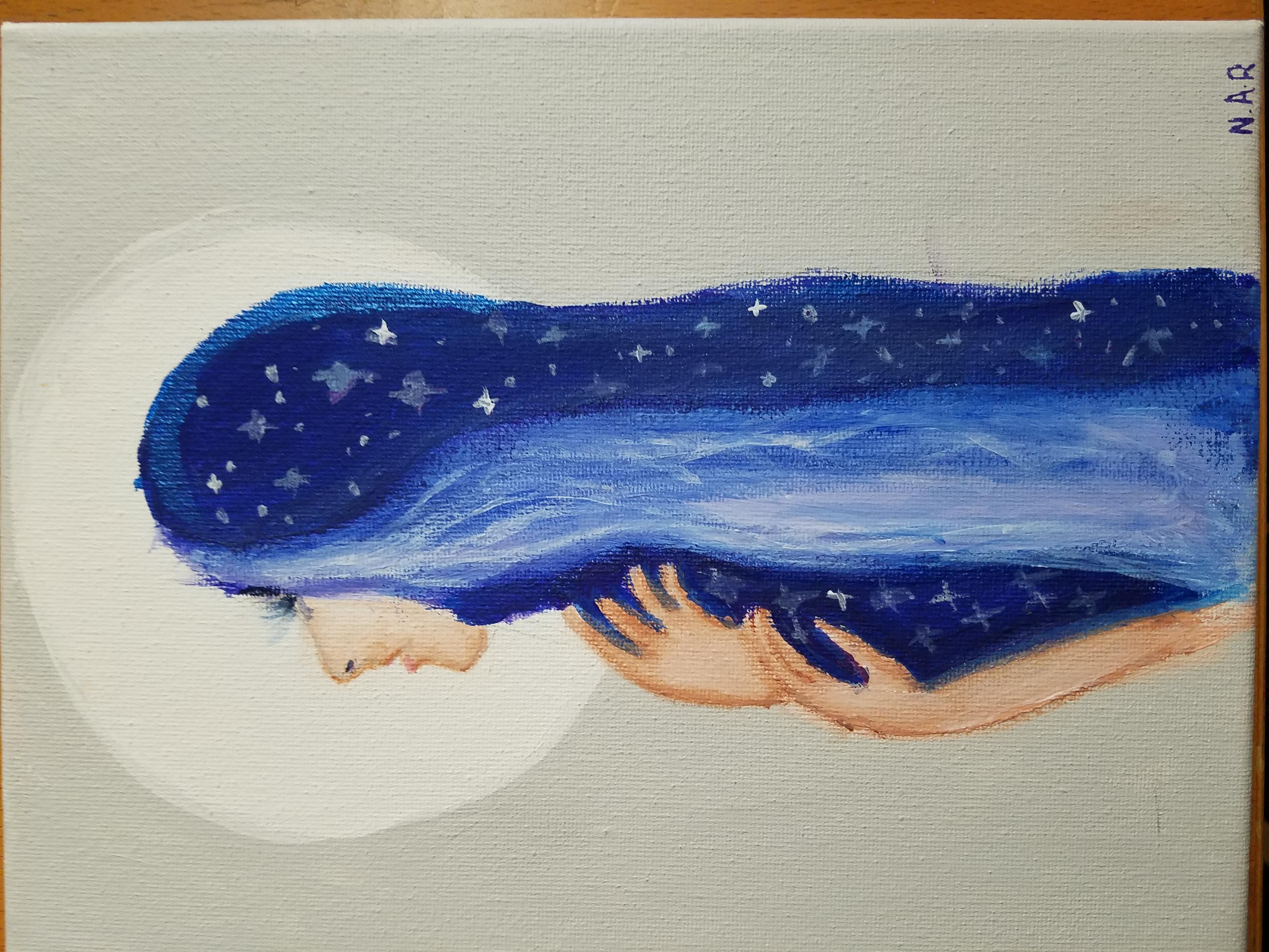 Acrylic Art - Age 11